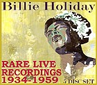 BILLIE HOLIDAY, Live Broadcasts