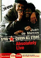 JUAN DE MARCOS GONZALES / AFRO CUBAN ALL STARS - Absolutely Live - DVD + CD