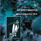 Anthony Braxton Solo Milano 1979 (volume 1)