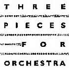 London Jazz Composers ORCHESTRA Three Pieces For Orchestra