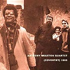 Anthony Braxton quartet Coventry 1985