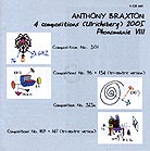 Anthony Braxton 4 Compositions (ulrichsberg) 2005 Phonomanie VIII
