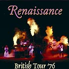 RENAISSANCE, British Tour 76