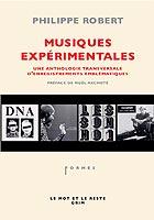 PHILIPPE ROBERT - Musiques ExpŽrimentales - Book