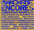 Christian Marclay More Encores