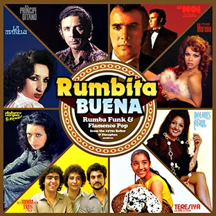 Rumbita Buena Rumba Funk & Flamenco Pop from the 1970's Belter & Discophon
