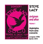 STEVE LACY Avignon and After Vol 1