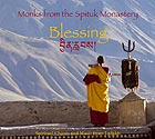TIBET Monks from the Spituk Monastery : Blessing